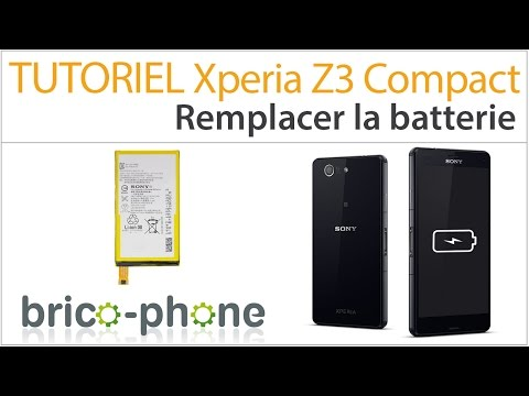 changer batterie sony xperia z3 compact