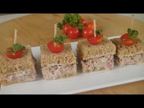 Tuna Mayo Sandwich | Sanjeev Kapoor Khazana