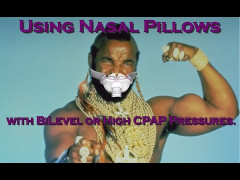 Using Nasal Pillows CPAP Mask with Bilevel and High Pressures. Can you do it? FreeCPAPAdvice.com