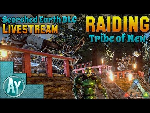 Ark: Scorched Earth! Small Raid w/Nero Post-Wiped
