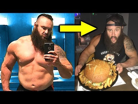10 WWE Superstars Who Eat Junk Food and Stay in Great Shape - Braun Strowman, John Cena and more