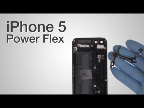 Power, Volume & Silent Button Repair - iPhone 5 How to Tutorial