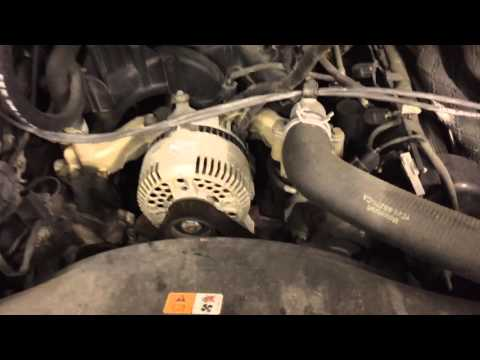 Ford E-150 Belt and Air Filter