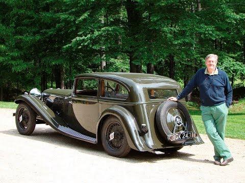 Edward Herrmann 1934 Alvis Speed 20 SB Two Door Saloon by Vanden Plas