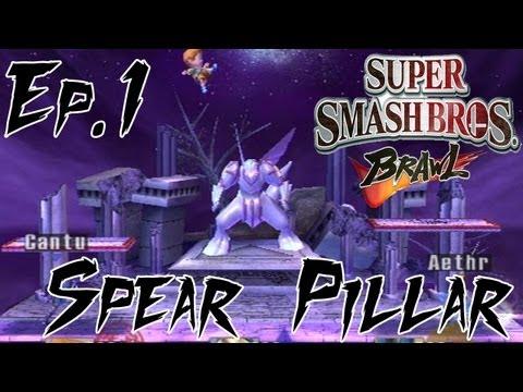 Super Smash Bros Brawl - Spear Pillar