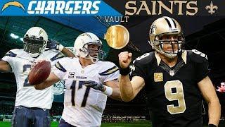 Drew Brees REVENGE Game! (Chargers vs. Saints, 2008)   NFL Vault Highlights
