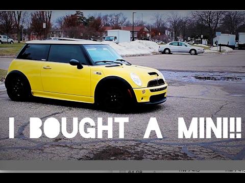 MY NEW CAR! R53 Mini Cooper S!