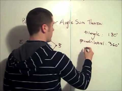 Polygon Interior Angle Sum Theorem