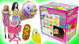 Squishy Squish Dee Lish Shopkins Surprise Blind Bag Squishes - Mystery Toys Haul