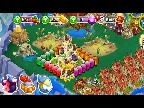 Dragon City - All My Heroic Pieces & Dragon Orbs:  Green, Purple, Red, Golden Orbs