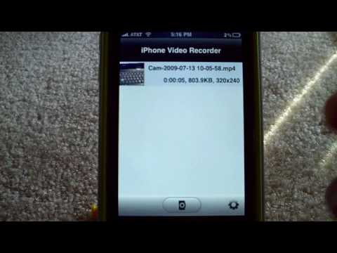Upload Videos To YouTube From Your iPhone (3G)