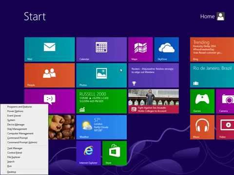 Windows 8 shortcut keys: How to open control panel and task manager