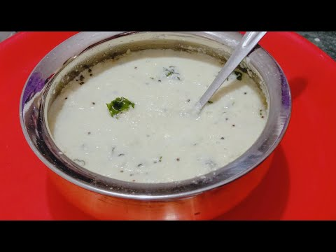 COCONUT CHUTNEY  - COCONUT CHUTNEY IN TAMIL - HOW TO MAKE COCONUT CHUTNEY