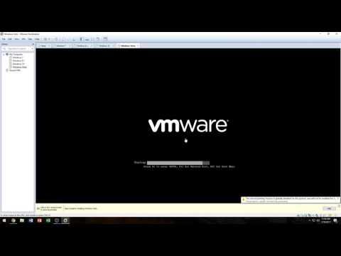Installing Windows Vista in VMware Workstation