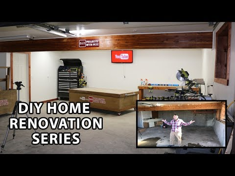 DIY Home Renovation Series Episode 2 - How to Bring Life to an Old Garage
