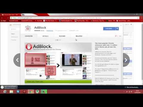 How To Remove Ads From Google Chrome 2014