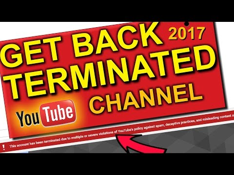 Get Back | Recover Terminated/Suspended YouTube Channel 2017- Find Google Plus Email- How To
