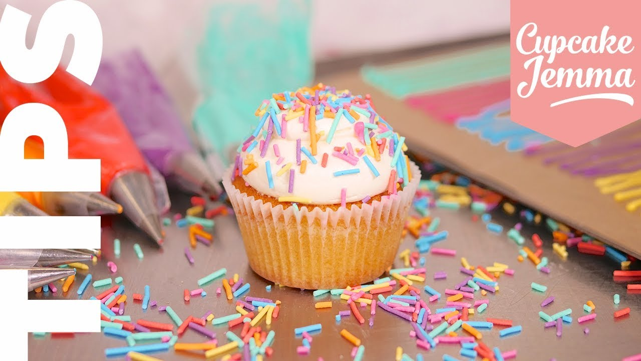 Make Your Own Sprinkles! | Cupcake Jemma Video Tips