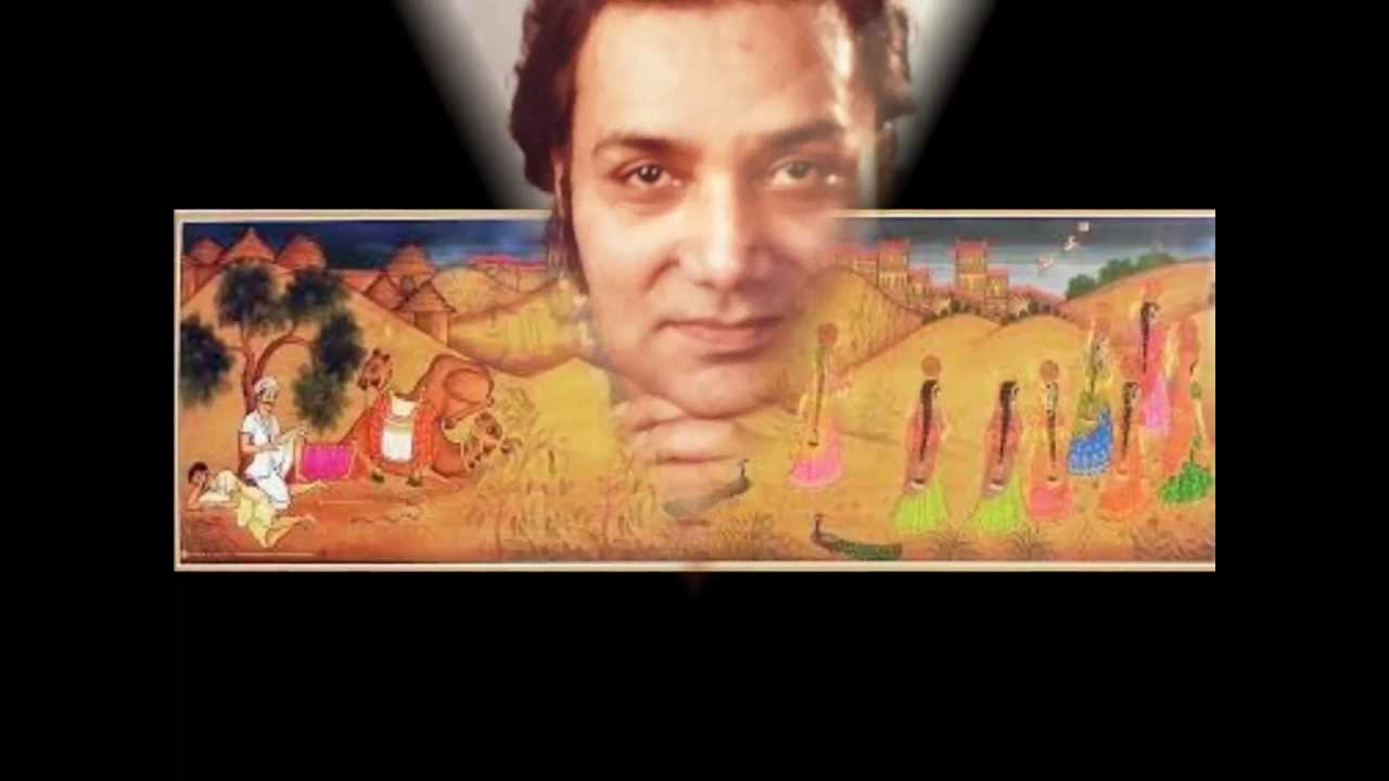 Pt. Brij Bhushan Kabra presenting rajasthani folk tune 'Panihari'