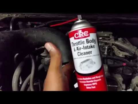 2008 Chevy Avalanche  throttle body cleaning!
