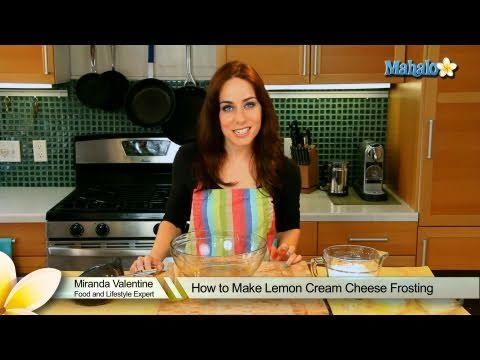 How to Make Lemon Cream Cheese Frosting