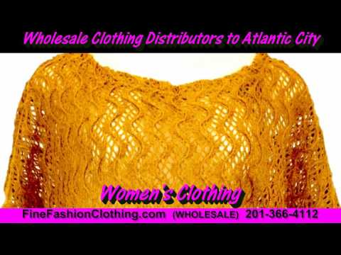 Atlantic City Clothing Wholesalers  and Cheap Wholesale Clothing Distributors of Atlantic City Women