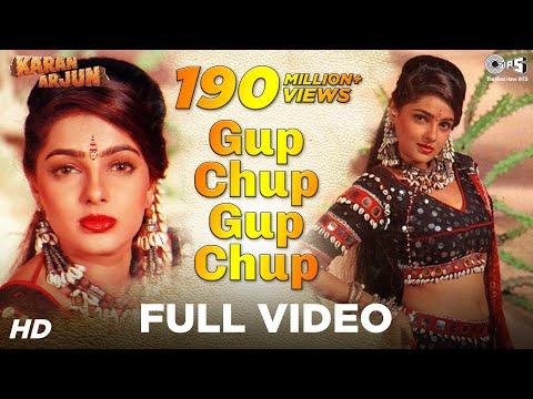 Xxx Mp4 Gup Chup Gup Chup Full Song Karan Arjun Mamta Kulkarni Alka Yagnik Ila Arun 3gp Sex