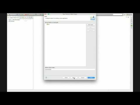 Creating a Simple Java Web Application in Eclipse
