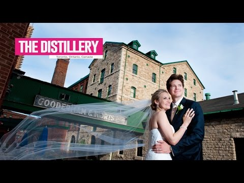 Distillery District - Best Toronto Wedding Locations