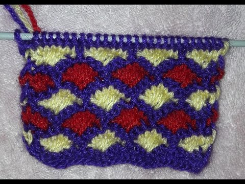 Simple sweater design easy to learn knitting dsign Multicolor attractive designs woolen tutorial #15