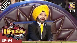Samarth, the Chota Sidhu Guru! Thoko Taali. - The Kapil Sharma Show - 1st Apr, 2017