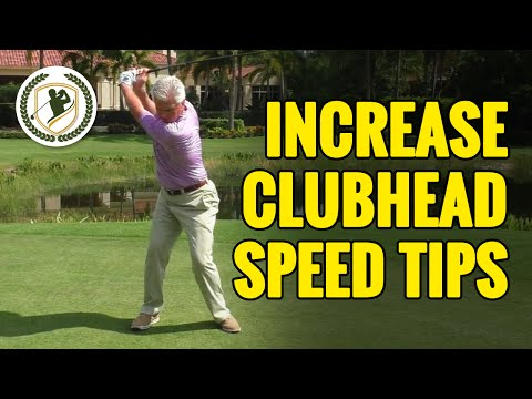 GOLF SWING TIPS - HOW TO INCREASE CLUB HEAD SPEED