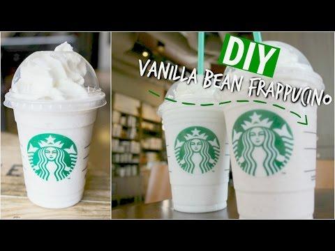 ♡ DIY Starbucks Vanilla Bean Frappuccino ♡