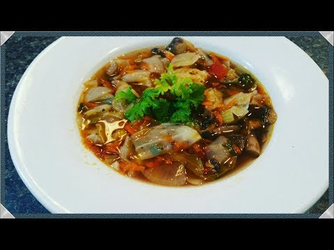 Cabbage Soup Recipe/ Healthy Cabbage Soup Diet Recipe-low carb