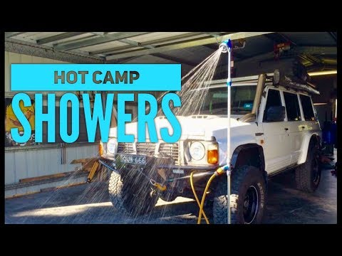 Hot Camp Shower & Water Storage rundown