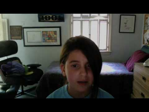 10-year-old Singing A Song She Wrote
