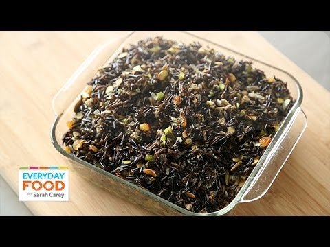Wild Rice Stuffing - Thanksgiving Recipes - Everyday Food with Sarah Carey