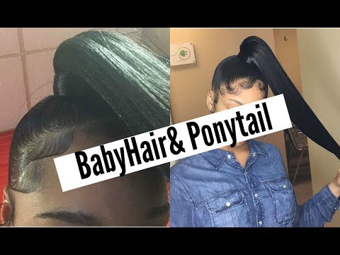 How To: Super Easy Side Ponytail (Yolissa Hair)