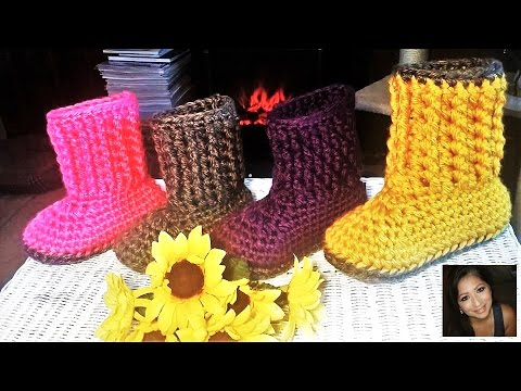 Cozy Chunky Bootie Sock Slippers