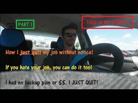 WALKING IN AND QUITTING MY JOB WITHOUT NOTICE - PART 1 // Walk Out / Lowe's