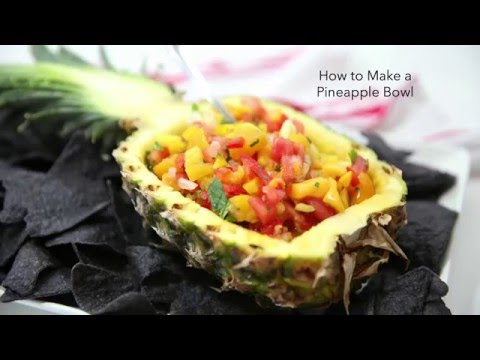 How to Make a Pineapple Bowl