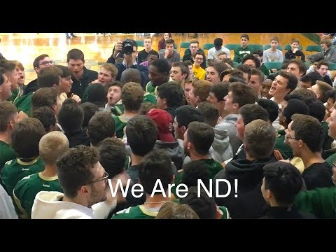 Welcome to Notre Dame—Class of 2022