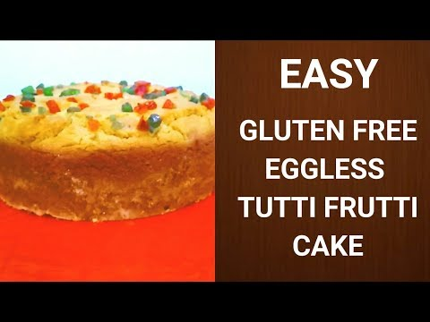 easy recipes...gluten free cake | how To make gluten free eggless cake| tofb