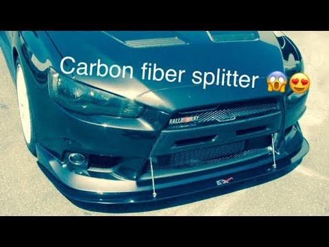 Diy Carbon fiber Front Splitter