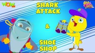 Shark Attack | Shoe Shop- Eena Meena Deeka - Animated cartoon for kids - Non Dialogue