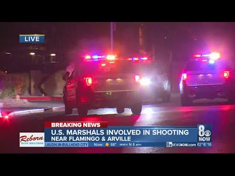 Xxx Mp4 US Marshals Involved In Officer Involved Shooting Off The Strip 3gp Sex