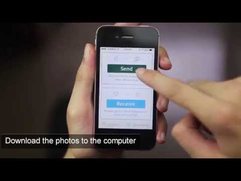 Photo Transfer app - transfer photos and videos between PC and iPhone wirelessly via WiFi