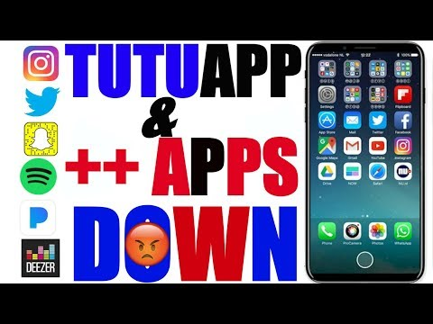 iOS 11/ iOS 9-10.3.3: ALL ++ APPS DOWN_ Spotify ++, Snapchat ++, FaceBook ++, Pandora ++, Twitter ++