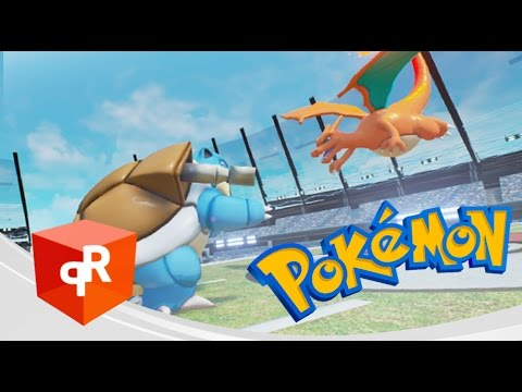 Unreal Engine 4 : Pokemon Battle System !!!!