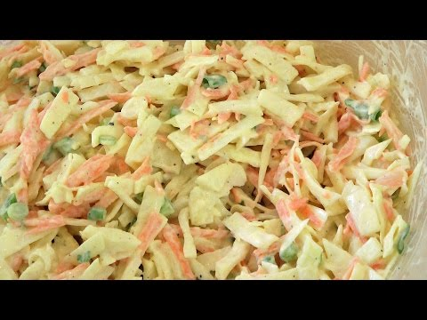 Easy Coleslaw Recipe - Coleslaw Dressing Recipe